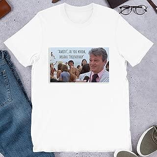 Mayor Vaughn Jaws Amity Island Chief Brody Fishing Sharks Great White Gifts Funny Mens Womens Girls Unisex T-Shirt