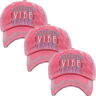Womens Baseball Cap Bundle Unconstructed Vintage Distressed Dad Hat