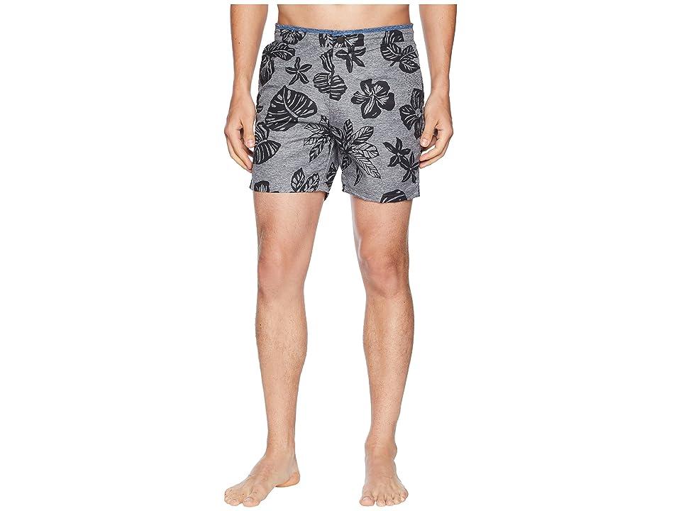 Scotch & Soda Printed Melange Swim Shorts with Cut Sewn Waistband (Combo B) Men
