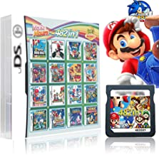 482 in 1 Game Cartridge , DS Game Pack Card Compilations, With Mario & Sonic Series, Super Combo Multicart for DS, NDSL, N...