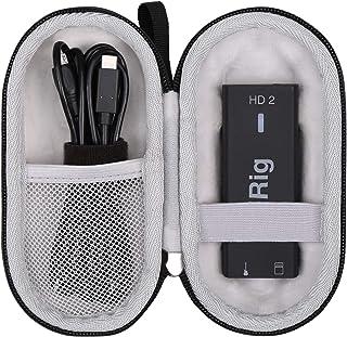 Aproca Hard Travel Storage Carrying Case for IK Multimedia iRig HD 2 digital guitar interface