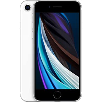 New Apple iPhone SE (64GB, White) [Locked] + Carrier Subscription
