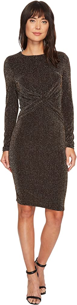 MICHAEL Michael Kors - Twist Waist Long Sleeve Dress