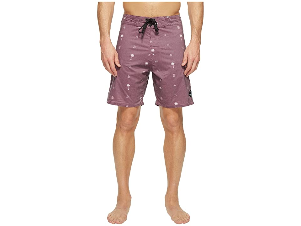 Body Glove Boneyard Boardshort (Dark Purple) Men