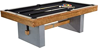 Barrington Urban Professional Billiard Pool Table, Full Set with Accessories, Standard 8 Foot - Modern and Stylish Wooden ...