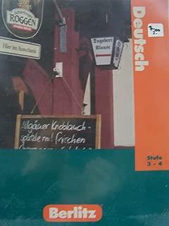 Berlitz German Levels 3- 4