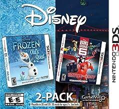 Disney Frozen e Big Hero Pacote com 6 - Nintendo 3DS