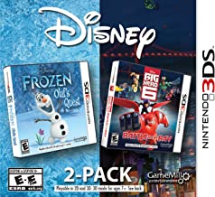 Disney Frozen & Big Hero 6 2 Pack - Nintendo 3DS