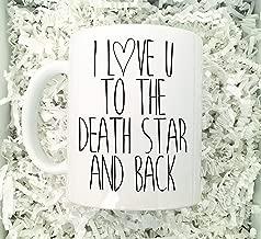 Boyfriend Mug,Star Wars Mug,I Love You Mug,Death Star,Boyfriends Gift,I Love My Boyfriend,Gift For Husband,I Love My Husband,Anniversary Mug