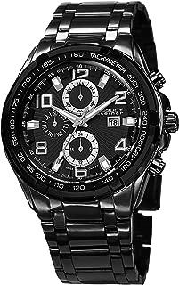 August Steiner Men's Mercury Analogue Display Swiss Quartz Watch with Alloy Bracelet