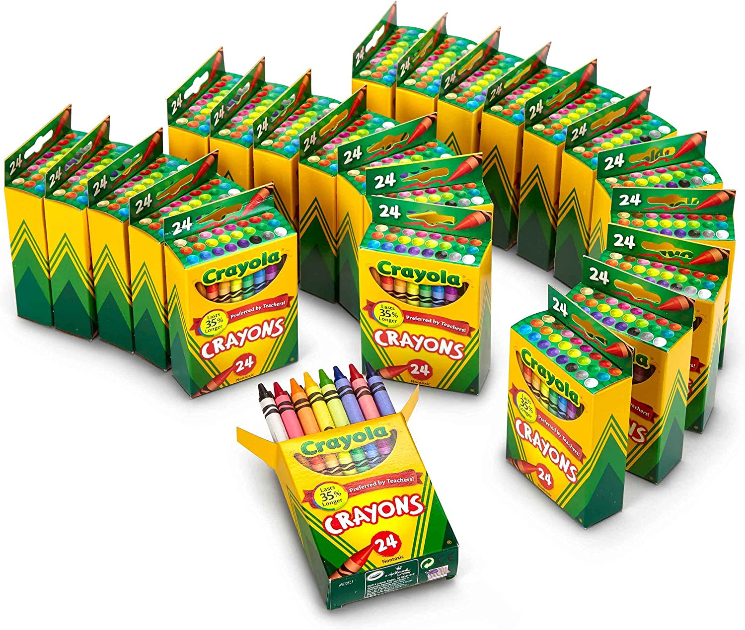 Crayola Crayons Bulk Sale special Discount mail order price Classroom Supplies 24 Teachers Crayon for