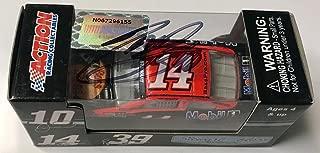 2013 Tony Stewart Bass Pro Shops Mobil 1 Signed 1/64 Nascar Diecast Car - Autographed Diecast Cars
