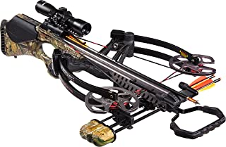 Barnett Vengeance Crossbow with 3x32mm Scope Package, 140-Pound, Camouflage