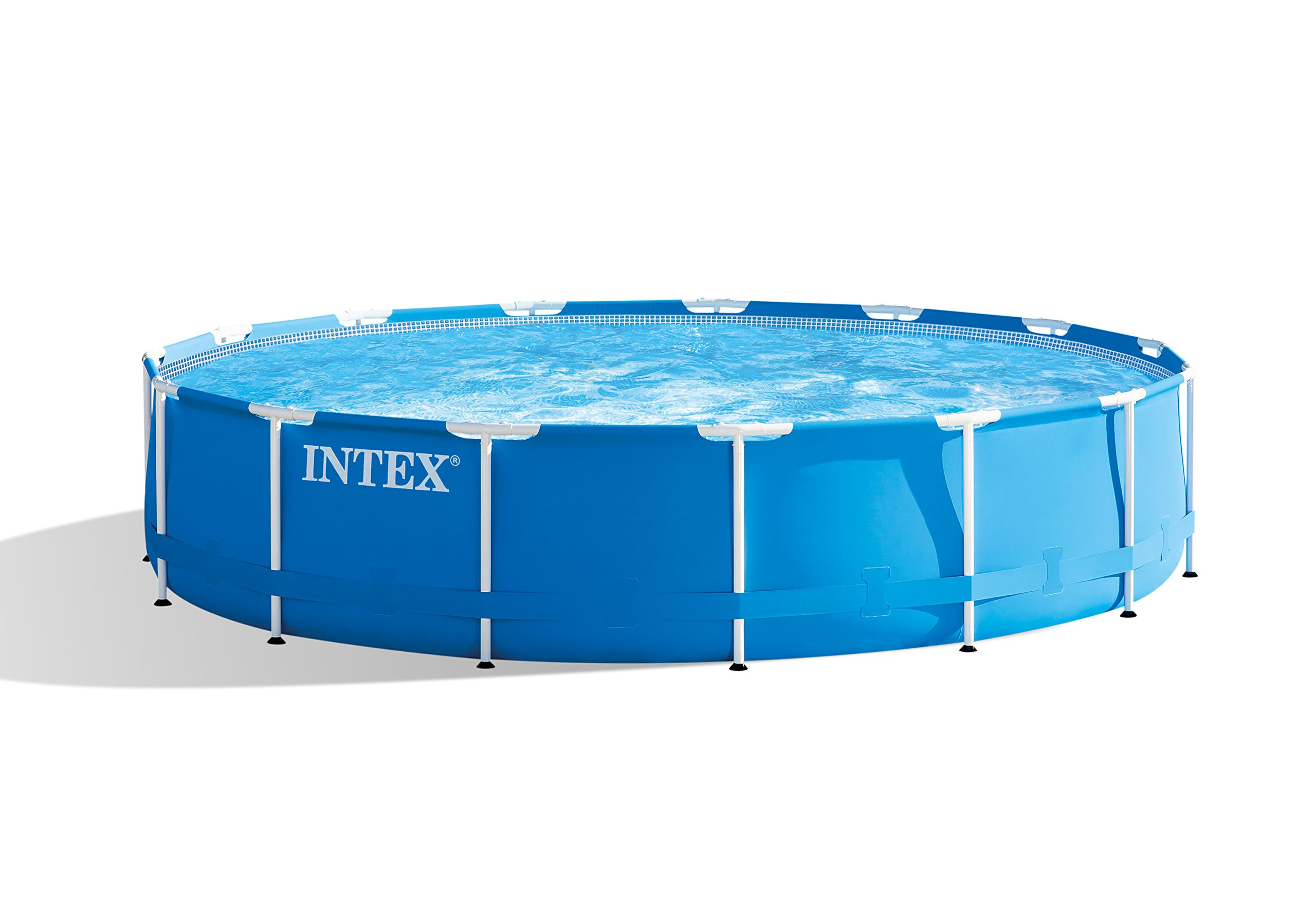 Intex Metal Frame Pool Set - Piscina, 457 x 84 cm, Color Azul ...