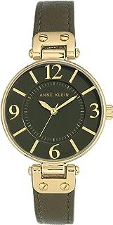Anne Klein 10/N9168OLOL Analog Quartz Green Watch