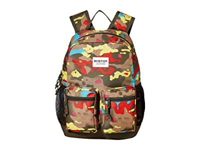 Burton Kids Gromlet 15L Backpack (Little Kids/Big Kids) (Bright Birch Camo Print) Backpack Bags