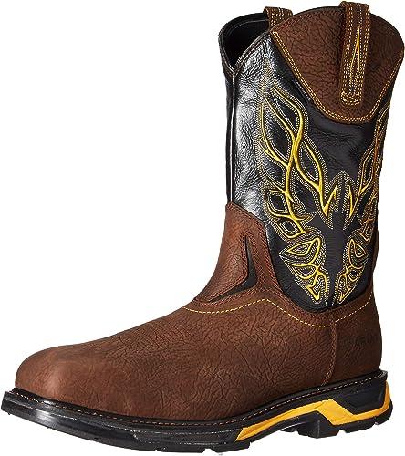 Ariat - Chaussures de Travail Western Workhog XT XT Firebird en Carbone Hommes, 45 M EU, Bruin marron noir