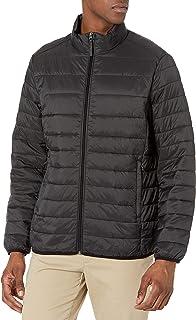 Amazon Essentials Lightweight Water-resistant Packable Puffer Jacket Heren Alternatieve jas omlaag