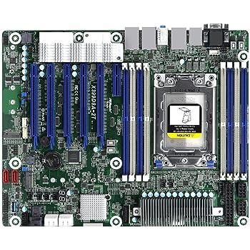 Amazon Com Asrock Rack X399d8a 2t Atx Server Motherboard Amd Tr4 4094p Amd X399 Dual 10 Glan Computers Accessories