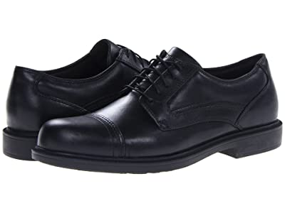 Dunham Jackson Cap Toe Waterproof (Black) Men