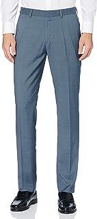Marca Amazon - find. Pantalón Clásico de Corte Recto Hombre