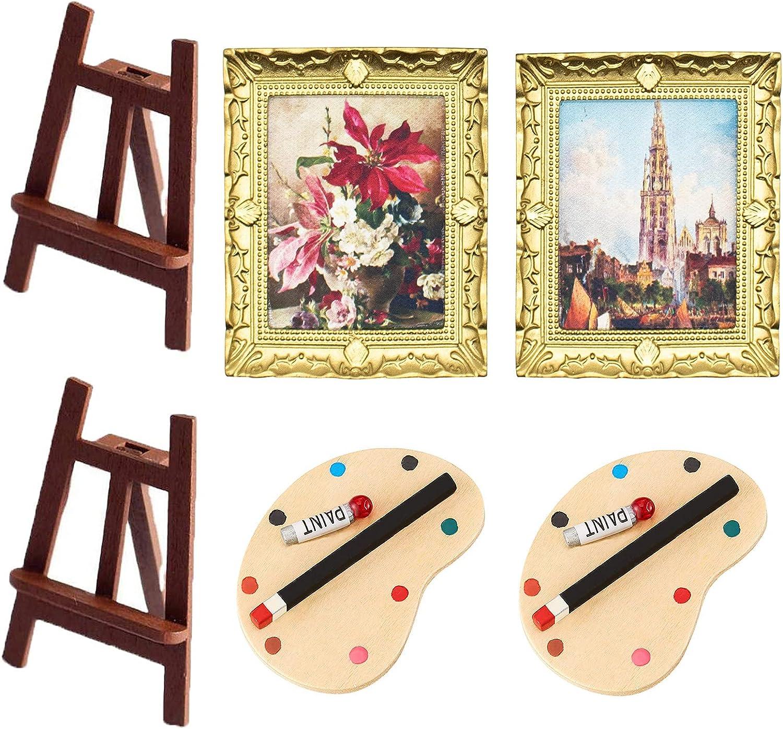 G0ldenMang0 6Pcs Dollhouse Decor sold out 12 De shop Accessories 1