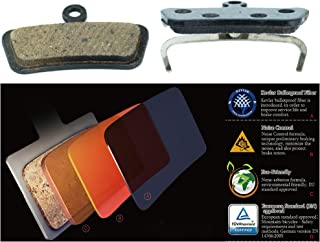 Avid Elixir Trail X0 Trail Elixir 7 Trail Elixir 9 Trail Sram Guide R RS RSC Replacement Brake pads by Cooma Semi Metallic Resin
