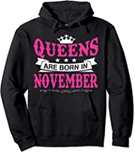 Queens Are Born In November Pullover-Hoodie and tee