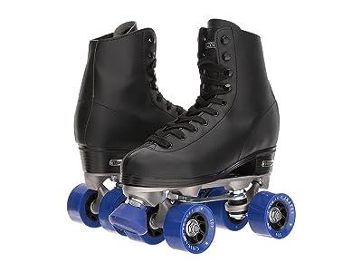 Chicago Skates Classic Rink Skate (Black/Blue) Skate Shoes