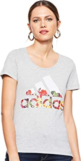 AdidasWomen'sBadge of Sport Flower TeeGraphic Tee (Short Sleeve)