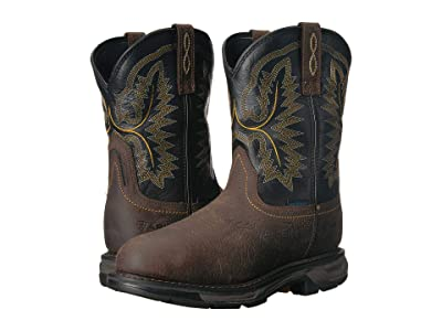 Ariat Workhog XT Pull-On H2O (Bruin Brown/Black) Men