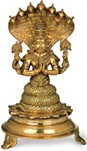 The Great Sage Patanjali - Brass Statue