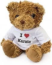 New - I Love Karate - Teddy Bear - Cute Soft Cuddly - Gift Present Xmas Birthday