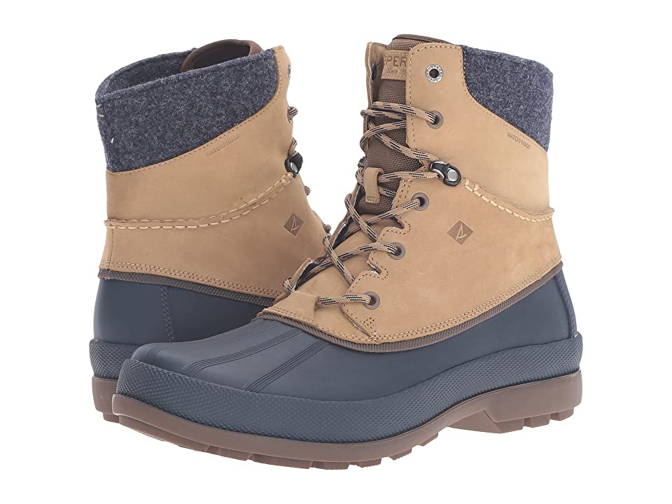 Sperry Cold Bay Sport Boot w/ Vibram Arctic Grip (Taupe) Men