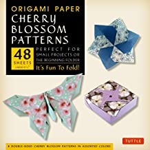 Origami Paper Cherry Blossom Patterns (Large): It's Fun to Fold!