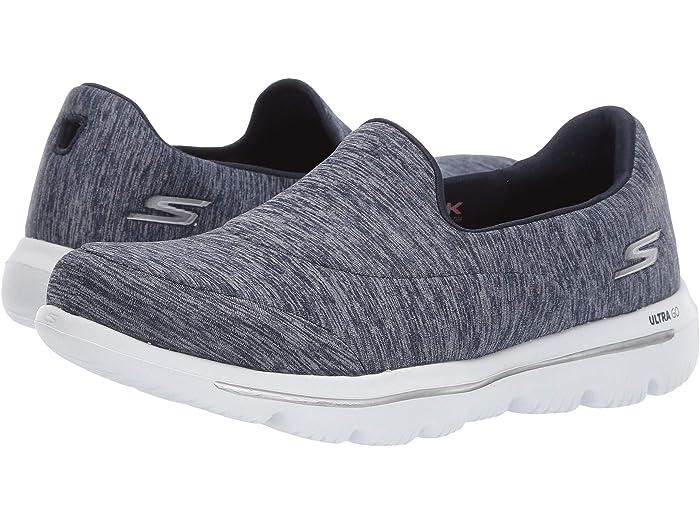 Amazed Slip On Gray G10 New Women/'s Skechers 15733 GOwalk Evolution Ultra
