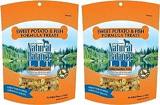Natural Balance L.I.T. Sweet Potato and Fish Formula Dog Treats 28 ounce (2-pack 14 ounce each)