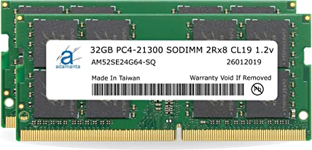 "Adamanta 64GB (2x32GB) Memory Upgrade for 2019 & 2020 Apple iMac 27"" (iMac 19,1 iMac 20,1 iMac 20,2) w/Retina 5K Display, ..."
