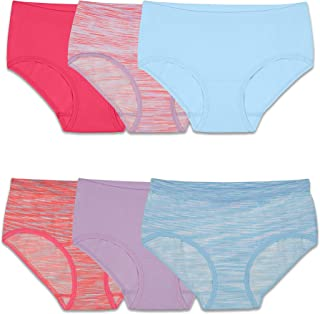 Fruit of the Loom Girls' Seamless Underwear Multipack