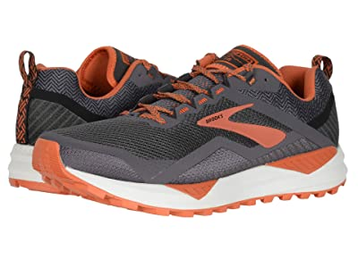 Brooks Cascadia 14 (Black/Grey/Burnt Orche) Men