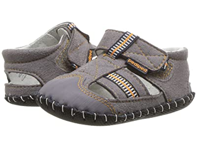 pediped Gustan Original (Infant) (Grey/Orange) Boy
