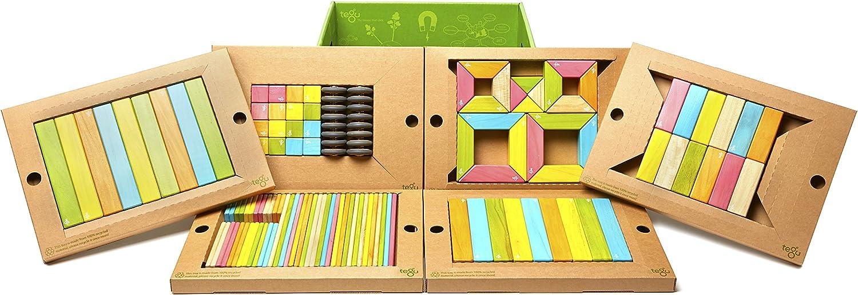 comprar nuevo barato Tegu - Juego de Bloques de Construcción de de de Madera magnéticos de 130 Piezas Aula  - Tintes  los nuevos estilos calientes