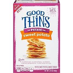 Good Thins: The Potato One - Sweet Potato Crackers, 3.75 Ounce