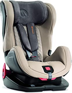 Silla de seguridad para niños Avionaut Glider Royal | silla de coche grupo 1/2 (9kg-25kg, 60cm-125cm) | para niños de 9 meses a 7 años | Gris/Beige