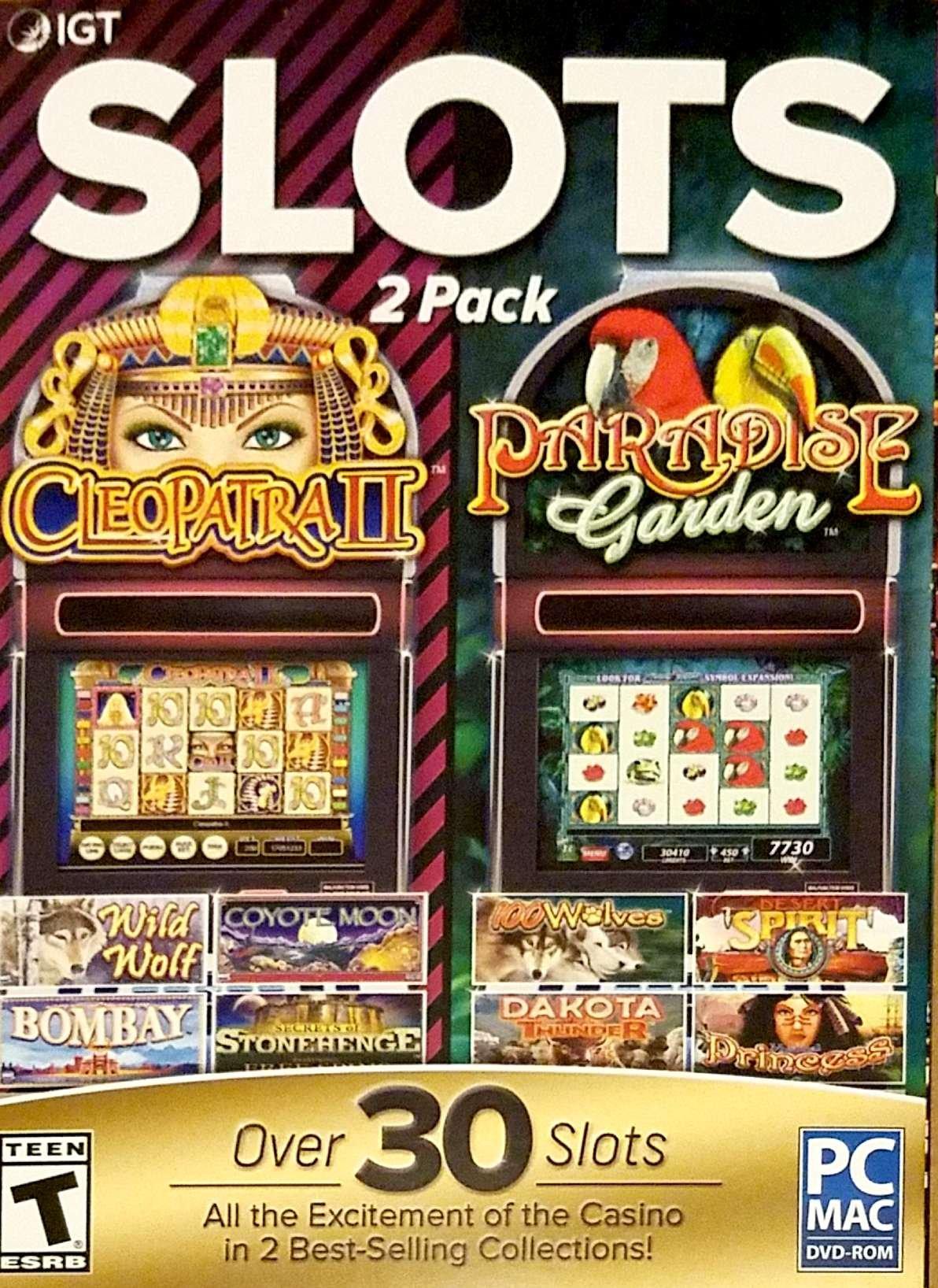 Igt Slots 2 Pack Cleopatra Ii Paradise Garden Buy Online In Isle Of Man At Isleofman Desertcart Com Productid 57520805