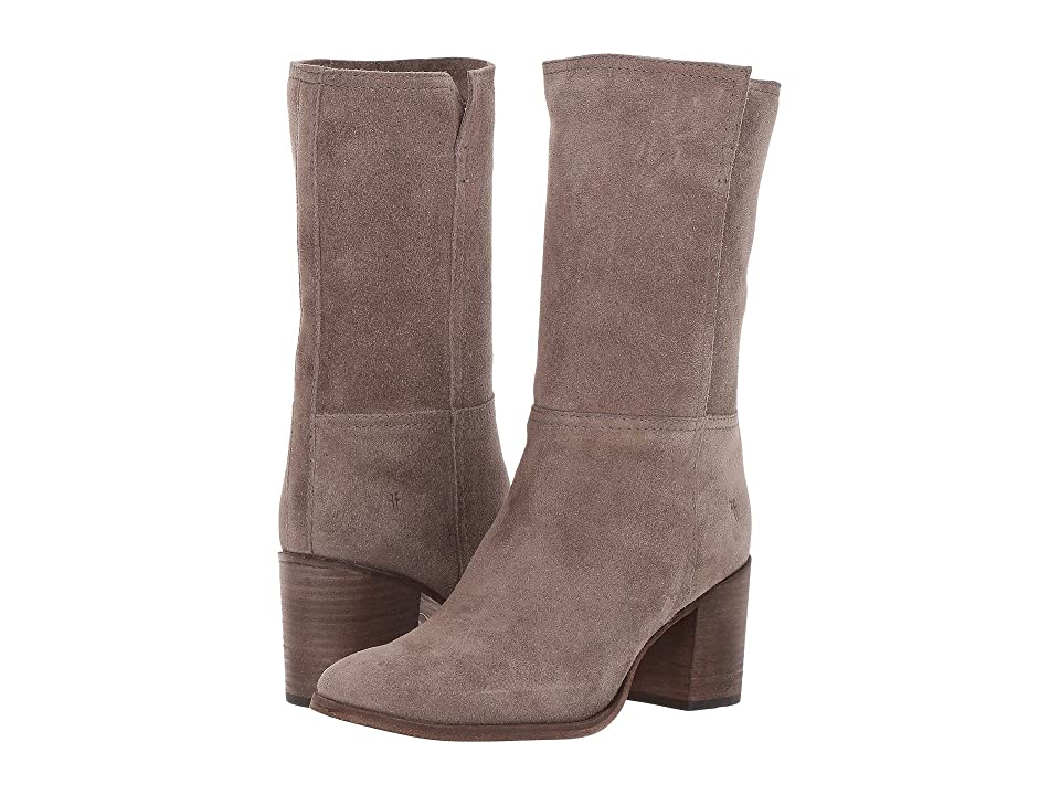 Frye Nora Mid Pull-On (Elephant Soft Oiled Suede) Women