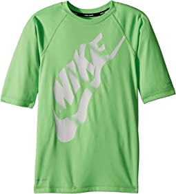 Nike Kids Solid Half Sleeve Hydroguard (Big Kids)
