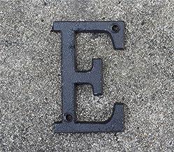 LHongBin-Deur huisnummer, Moderne Deurplaat Alfabet Huisdecoratie Metalen nummers, Adres Plaque Dash Slash Signs #0-9, A-Z...