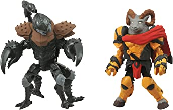 DIAMOND SELECT TOYS Battle Beasts Minimates Series 1: Vorin and Scorpion, 2-Pack