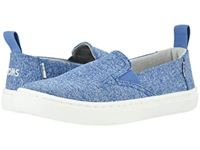 TOMS Kids Luca (Little Kid/Big Kid) (Vallarta Blue Repreve Melange Knit) Boy